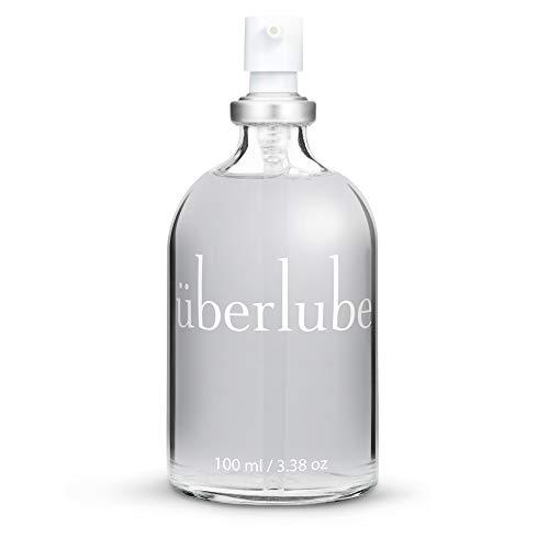 Überlube Premium Gleitgel | Natürliches Silikon Gleitgel mit Vitamin E- Latexkondomsicher| Geruchs-und...