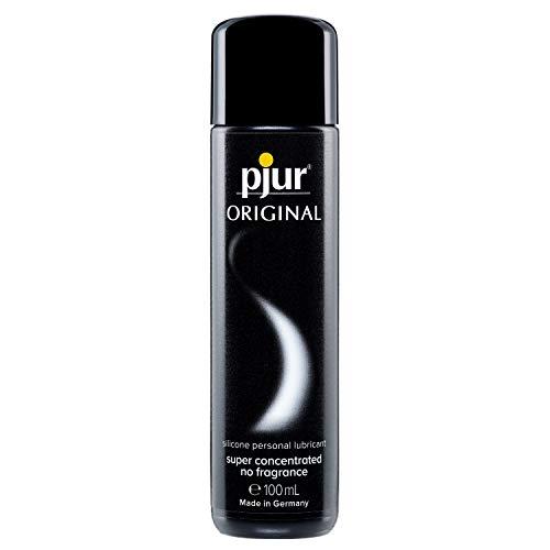 pjur ORIGINAL - Premium Silikon-Gleitgel - lange Gleitfähigkeit ohne zu kleben - sehr ergiebig und für...