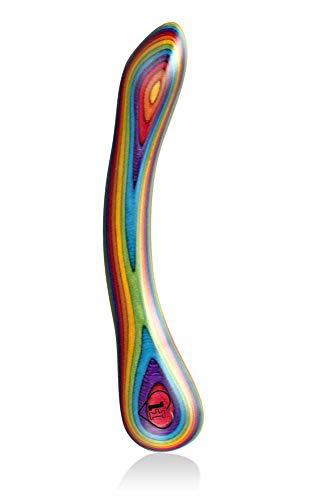 lustHOIZ G-Punkt Holzdildo MODEL TWO Pride Edition – Sexspielzeug für Frauen, Männer & Paare,...