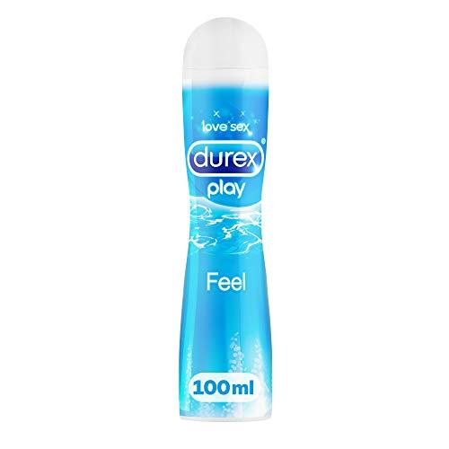 Durex Play Feel Gleitgel auf Wasserbasis – Leichtes, seidiges Gleitgel für gefühlsechtes Empfinden – 1 x...