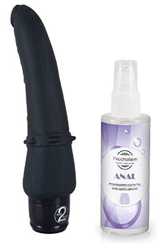 Anal Lover Vibratoren Analspielzeug- softer Anal-Vibrator für Männer, Frauen und Paare, leiser Stimulator...