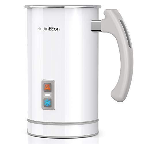 HadinEEon Milchaufschäumer 500ml 650w elektrisch Milchaufschäumer Edelstahl Automatischer Milchschäumer...