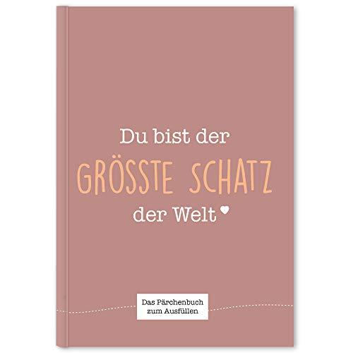 Cupcakes & Kisses® Pärchenbuch zum Ausfüllen I Liebeserklärung an den Partner I Erinnerungsbuch für Paare...