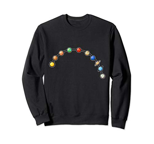 Sonnensystem Analkugeln Sex Porno Ficken Lustiges perverses Sweatshirt