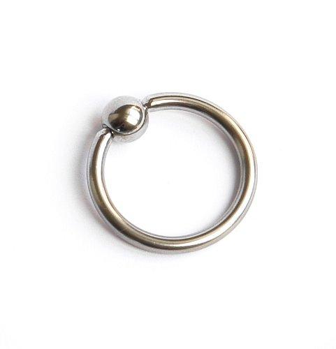 •Intimschmuck für IHN aus Implantatstahl - Penisring - Eichelring - 2,2 cm - bdsm Style - Fetish - Neuheit...