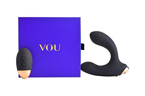 Vou by Amorelie Premium Analvibrator Opaco Mit Fernbedienung Für Männer