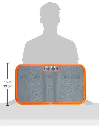 Mediashop Vibro Shaper – Fitness Vibrationsplatte bringt den Körper in Form – Vibrationstrainer für...