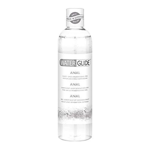 Gleitgel Analverkehr, Anal-Gleitgel Waterglide mit wasserbasierter Langzeitwirkung, für intensiven Analsex,...