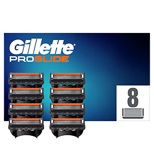 Gillette ProGlide Rasierklingen, 8 Rasierklingen pro Packung, mit 5 Anti-Irritations-Klingen für eine...