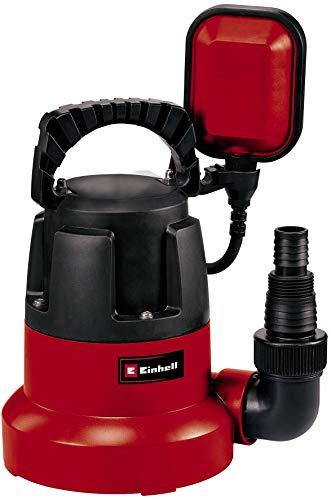 Einhell Tauchpumpe GC-SP 3580 LL (350 W, 8.000 Liter pro Stunde, flachabsaugend bis 1 mm, Pumpenstart ab 8 mm,...