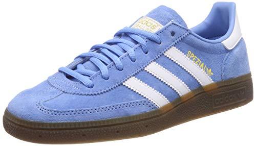 adidas Herren Handball Spezial Gymnastikschuhe Blau (Light Blue/FTWR White/Gum5), 42 EU