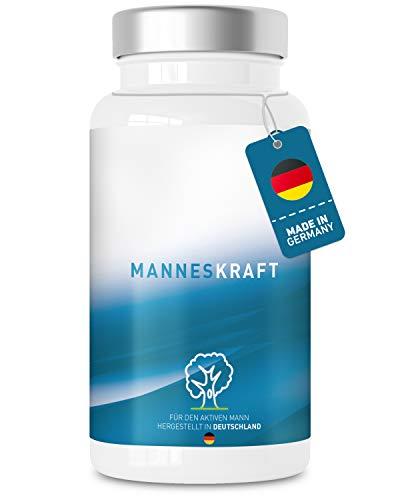 Manneskraft - Maca, L-Arginin, Tribulus Kapseln - hochdosierter Premium Komplex für den aktiven Mann mit...