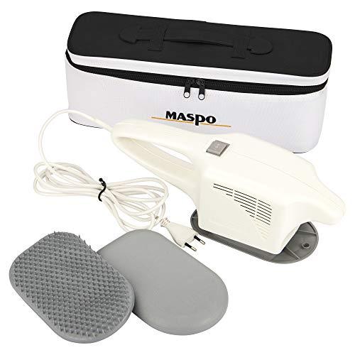 MASPO Vibramat de Luxe Großflächenmassagegerät Profi Massagegerät inkl. eleganter Transporttasche,...