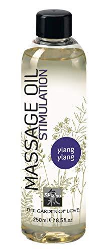 SHIATSU Aphrodisierendes Massageöl Ylang-Ylang, Massageoil für die sinnliche Partnermassage zur Stimulation,...