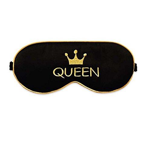 Queen Style weiche Seide Schlaf Augenmaske abdecken