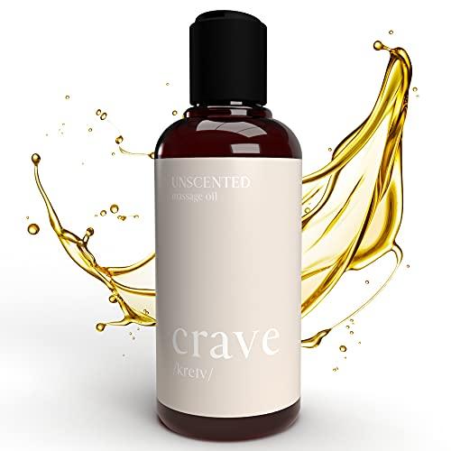 CRAVE Massageöl Entspannung zur Muskel Regeneration - Flüssiges Massage Öl für sinnliche Momente zu zweit...