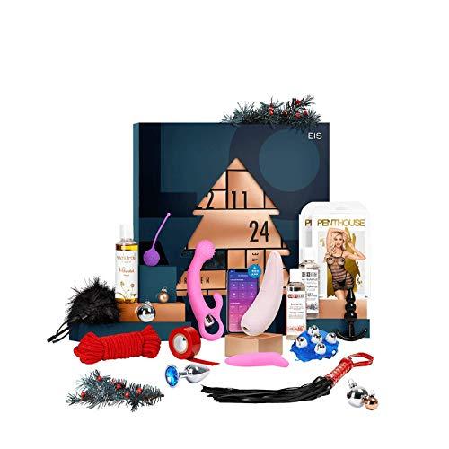 EIS Deluxe erotischer Adventskalender für Paare 2020, 24 sinnliche Sex Geschenke inkl. Satisfyer App Toy,...