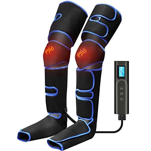 Beine Massagegerät Fußmassagegerät Elektrisch mit 6 Modi 3 Intensität Kompressionsmassage,USB-Aufladung...