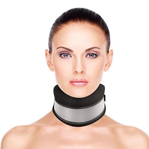 Healifty Halskrause Mensch - Verstellbarer Halskragen - Nackenstütze für Nackenschmerzen und Unterstützung...