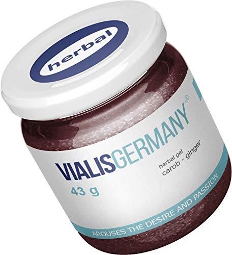 VialisGermany® 43g | SOFORT EFFEKT | Energie & Kraft für den Mann aus 5 natürlichen Inhaltsstoffen INGWER...
