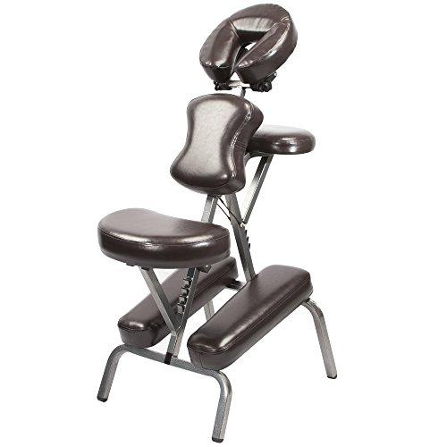 Master Massage Bedford Massagestuhl tragbar und leicht mit komfortabler Tragetasche einfach klappbar