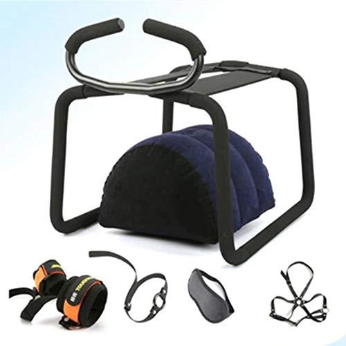 Ankoy 2 In 1 Sicheren Material Tragbare Reise Lounge Chair Bounce Hocker Stuhl Mit Handlauf