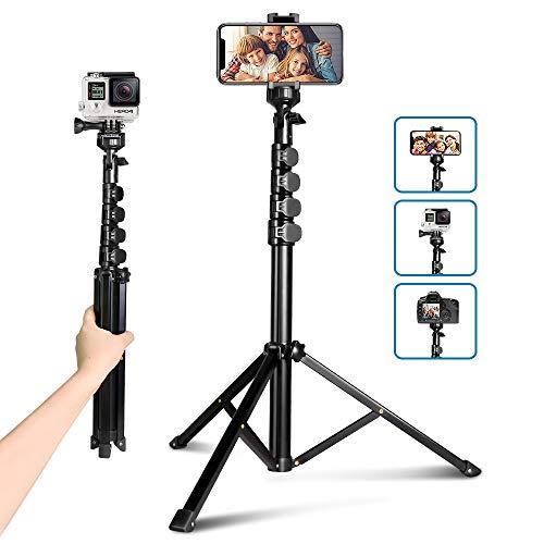 62' Selfie Trépied, UBeesize Kamera & Handy-Stativ-Ständer mit Bluetooth-Fernbedienung und...