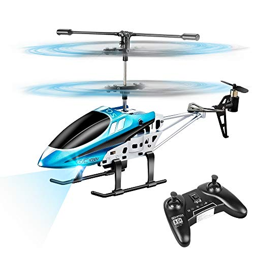VATOS Hubschrauber Ferngesteuert Indoor Mini Helikopter Spielzeug Ferngesteuert RC Helikopter Flugzeug...