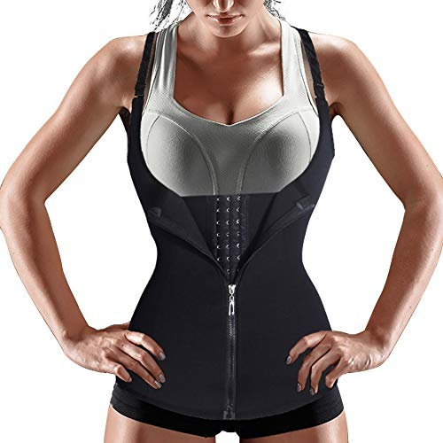 Bafully Damen stark formend Top Unterbrustkorsett Bauchweg Shaper figurformend Körperformer Unterbrust Mieder...