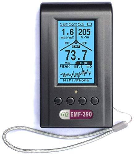 Fortschrittliche elektromagnetische Mehrfeld Strahlung EMF-390 3-in-1 EMF ELF RF HF meter Messgerät...
