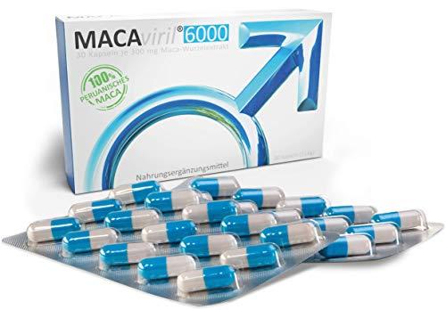 MACAviril®6000   aus Ihrer Apotheke   100% peruanisches Maca   hochdosiert   hochrein   made in Germany