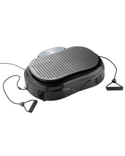 Newgen Medicals Vibrationstrainer: 3in1-Vibrationsplatte bis 150 kg, 300 Watt, Expander, Fernbedienung...