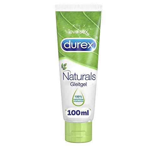 Durex Naturals Gleitgel auf Wasserbasis – Gleitgel aus 100% natürlichen Inhaltsstoffen und mit...