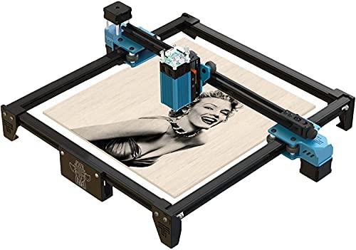 Twotrees Totem-S 40W Lasergraviermaschine, Graviermaschine Lasergravur-Kit, Compressed Spot LD+FAC (Compressed...