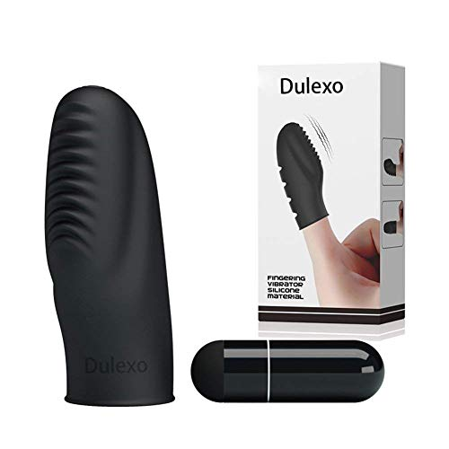 Dulexo Finger-Liebhaber Massagegerät Schütteln für Frau Wasserdicht Hergestellt von Silikon Mate