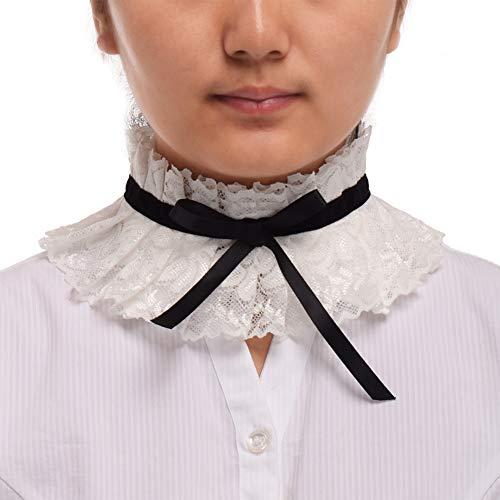 BLESSUME elisabethanisch Halskrause gotisch Spitze Hals Halskrause Halsband