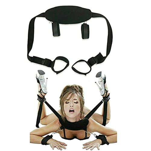 SM Bondage Set BDSM Fetisch SM Sexspielzeug Extreme Bett Fesseln mit Handschellen Augenmaske Bondage Kit für...