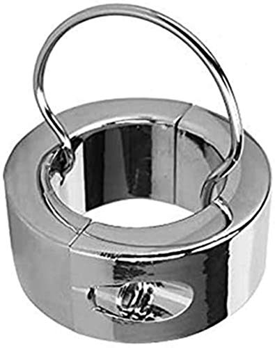XKCGH Extra Schwer Ball-Stretcher CBT Edelstahl Hodenring - Hodengewicht - Ball Stretcher Ring mit Schlüssel...