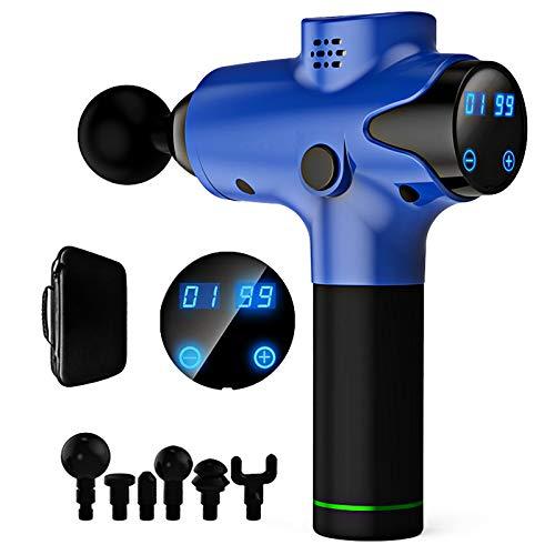 LXVY Massagepistole, Tragbares Muskel-Massagegerät mit 20 Einstellbare Geschwindigkeiten leistungsstarker...