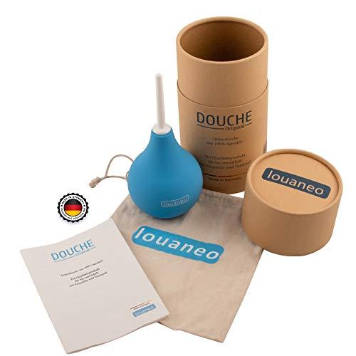 louaneo® DoucheOriginal 247ml Bidet, Laxative, Irrigator zur Darmreinigung. Klysma, Einlauf, Klistier,...