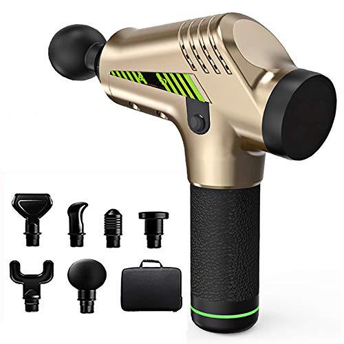 LXVY Massagepistole, Massage Gun für Nacken Schulter Rücken Muskel Massagegerät Elektronische mit 6...