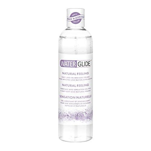 Gleitgel Waterglide, wasserbasierte Langzeitwirkung, Natural-Feeling, 300 ml