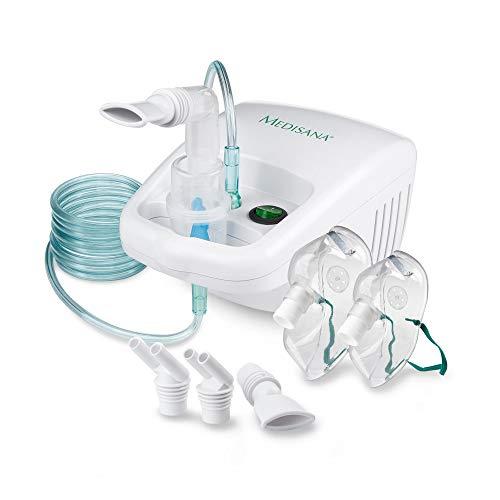 Medisana IN 500 Inhalator, Kompressor Vernebler mit Mundstück und Maske für Erwachsene und Kinder, bei...