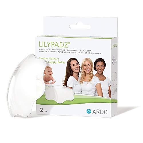 Ardo LilyPadz – Mehrweg-Stilleinlagen aus BPA-freiem Silikon – Selbsthaftend und atmungsaktiv – Von...
