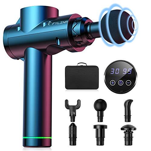 2021 Upgrade COULAX Massagepistole, Massage Gun, Massagegerät Elektrisch Muskelmassagepistole mit 30...