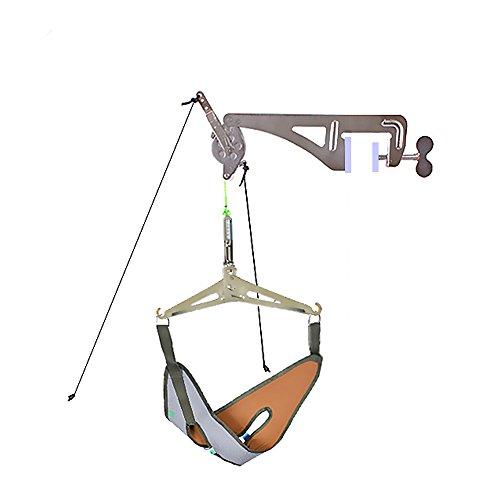 Genmine – Nackenstrecker, überliegendes Zervikal-Traktionskit, Nackenmassagegerät für Chiropraktik,...
