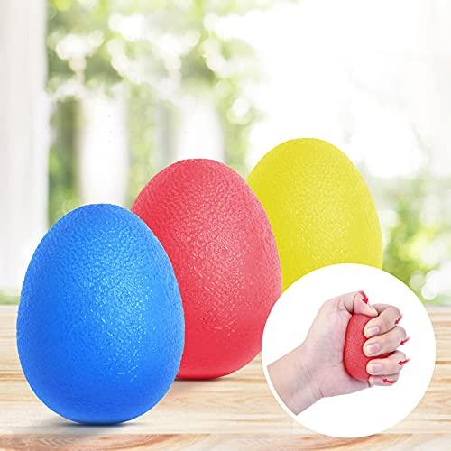 Peradix Handtrainer Fingertrainer Eiförmige Griffbälle 3pcs 30-60lbs Klettern Ball Hand Trainingsgerä...