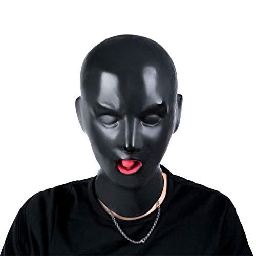 Healifty schlafmaske augenmaske nacht augenmaske mit offenem atmungsaktivem mundball für rollenspiele