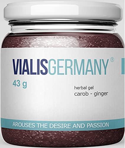 VialisGermany® 43g   SOFORT EFFEKT   Energie & Kraft für den Mann aus 5 natürlichen Inhaltsstoffen INGWER...