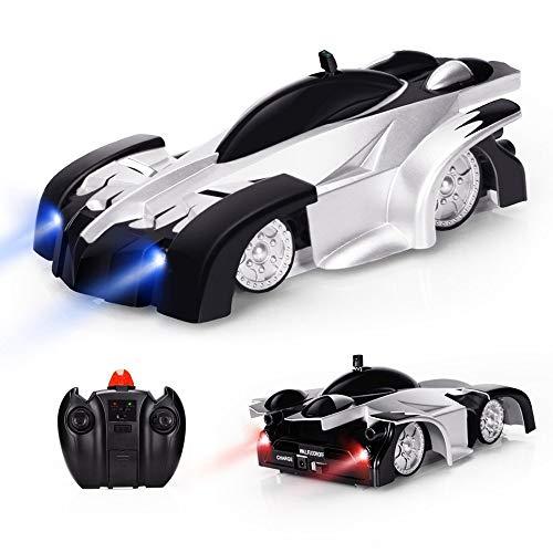 Baztoy Ferngesteuertes Auto mit Wandkletterfunktion, Kinderspielzeug RC Auto mit Fernbedienung 360 ° Rotation...